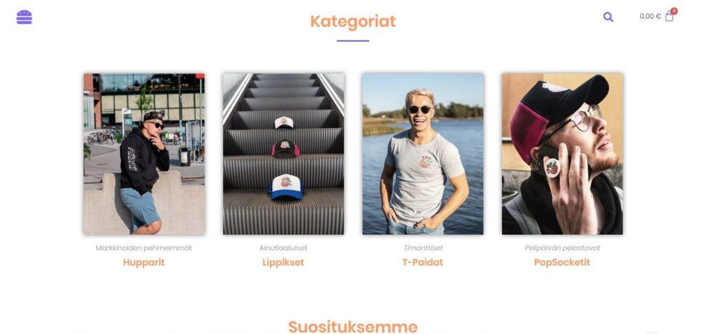 Kuudes Kerros 6kkauppa.fi kotisivut kuva 2
