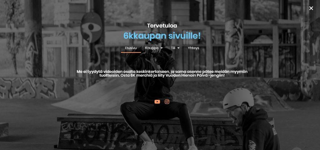 Kuudes Kerros 6kkauppa.fi kotisivut kuva 6